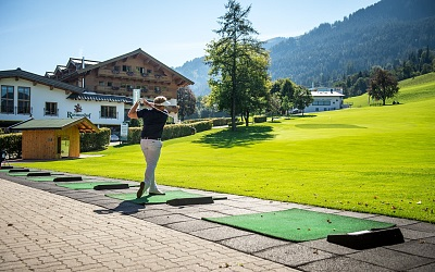 Driving Range, Chipping- und Putting Area am GLC Rasmushof