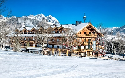 Ski vacation right on the slopes
