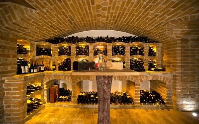 Wine cellar to feel good